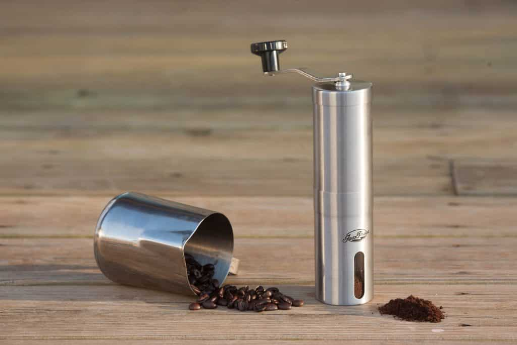 The JavaPresse Manual Coffee Grinder
